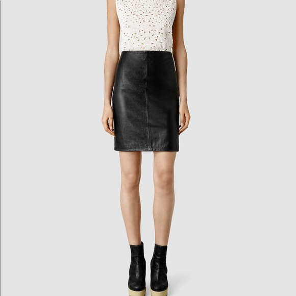 e8994a998dbe All Saints Skirts | Lucille Leather Skirt | Poshmark
